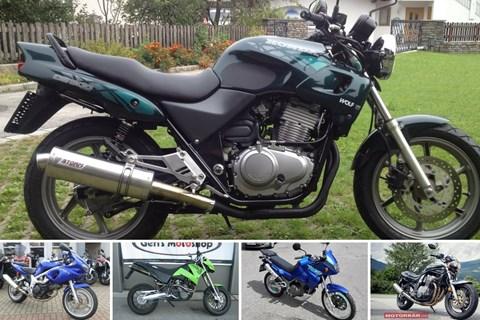 Top 5: Mein erstes Motorrad unter 3000 Euro
