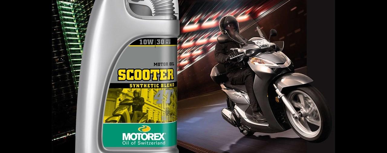 MOTOREX SCOOTER 4T 10W/30