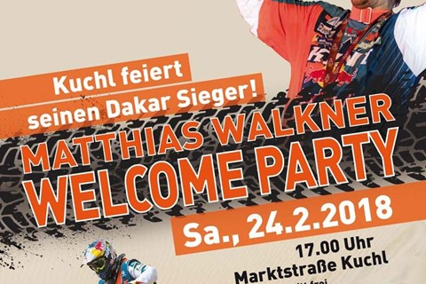 Dakar-Sieger-Feier am 24. Februar 2018
