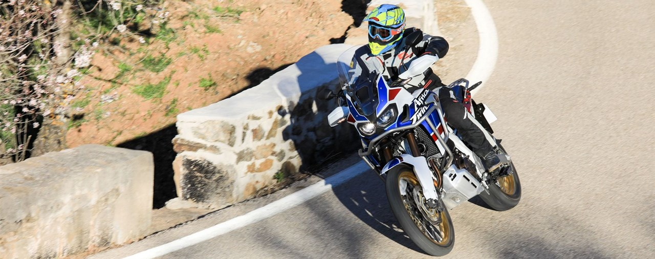 Honda CRF1000L Africa Twin Adventure Sports Test 2018