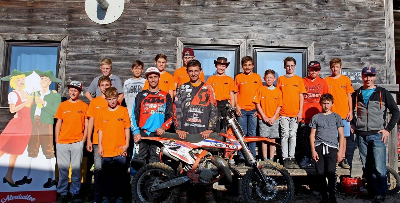 Die YOUNG FIGHTERZ powered by KTM bekommen Verstärkung!