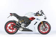 Ducati Supersport mit Ilmberger Carbonparts