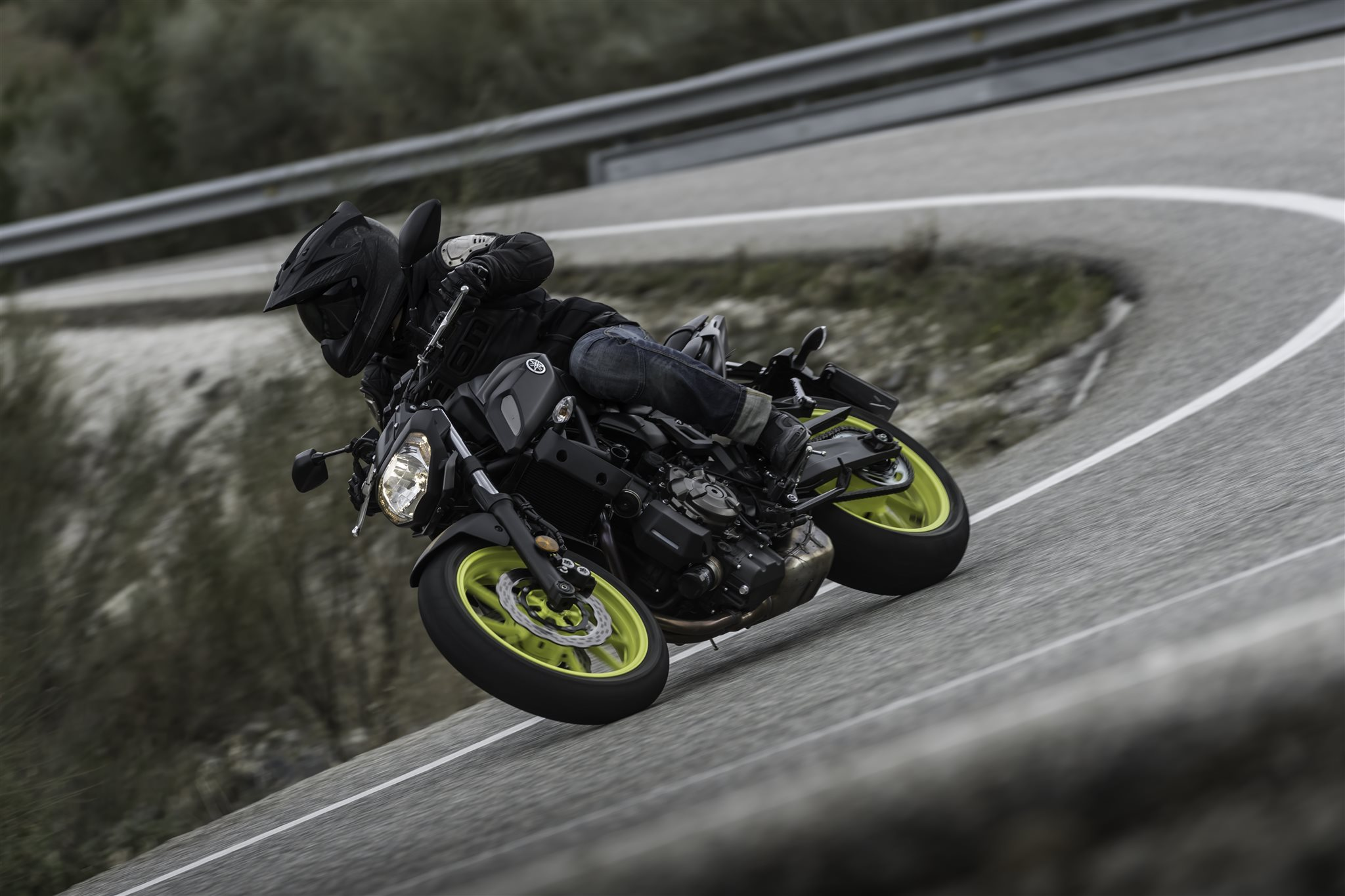 Yamaha MT-07 Test 2018