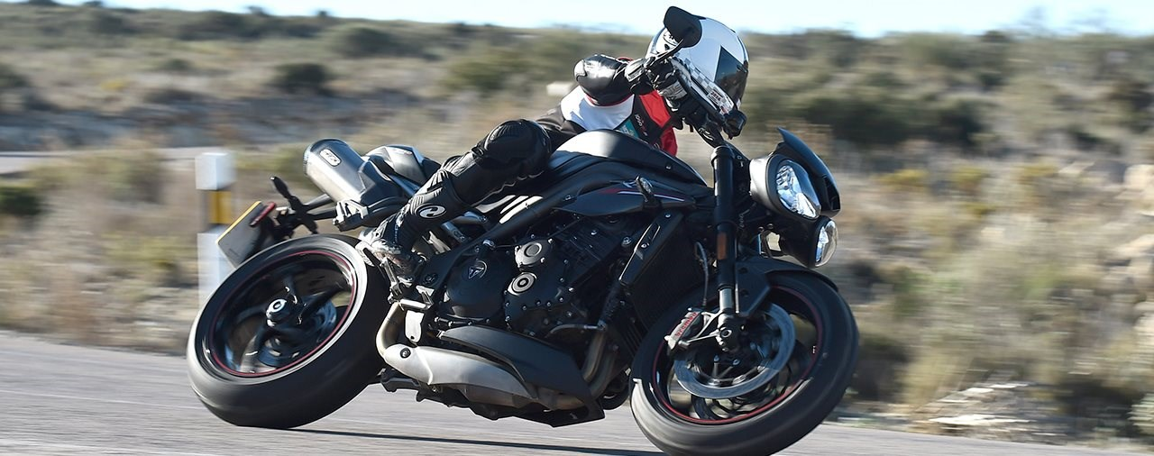 Triumph Speed Triple RS Test