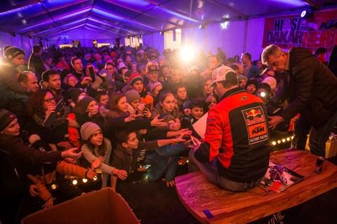 Dakar-Sieger Walkner im Heimatort gefeiert