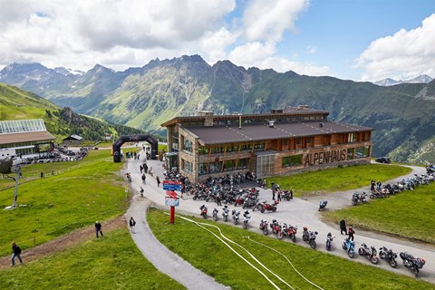 Top of the Mountain BIKER SUMMIT Ischgl 2018