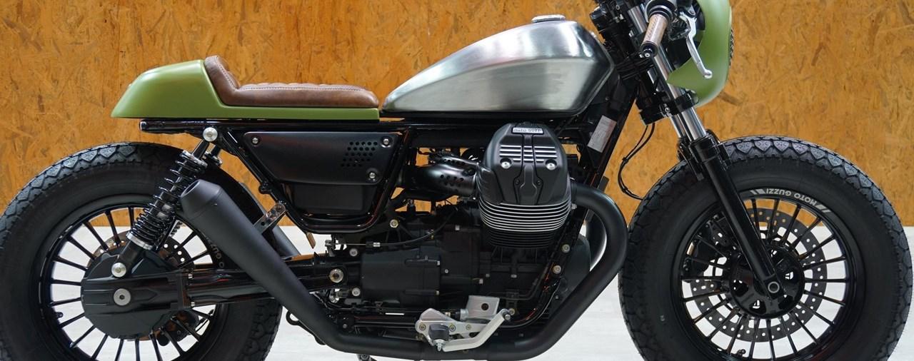 Moto Guzzi V9 Customizing Contest 2018