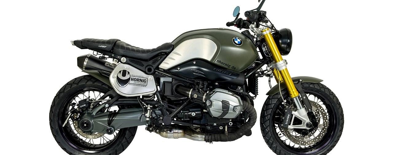 Neuer BMW RnineT Umbau von Hornig