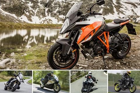 Top 5: Sportliche Motorräder für grosse Leute