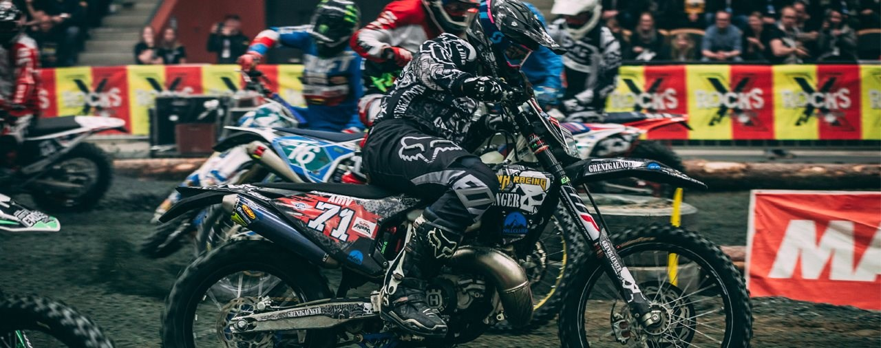 Kevin Gallas wird SuperEnduro Junioren Weltmeister