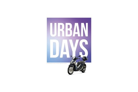 PIAGGIO URBAN DAYS von 1. April bis 31. Mai