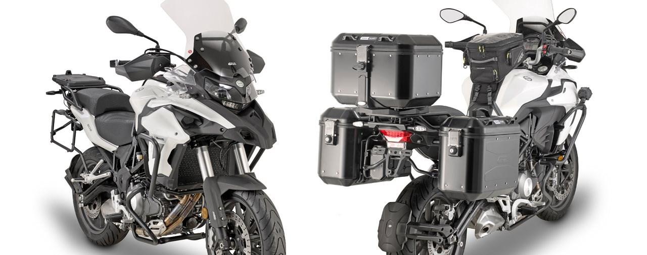 Givi komplettiert die Benelli TRK502