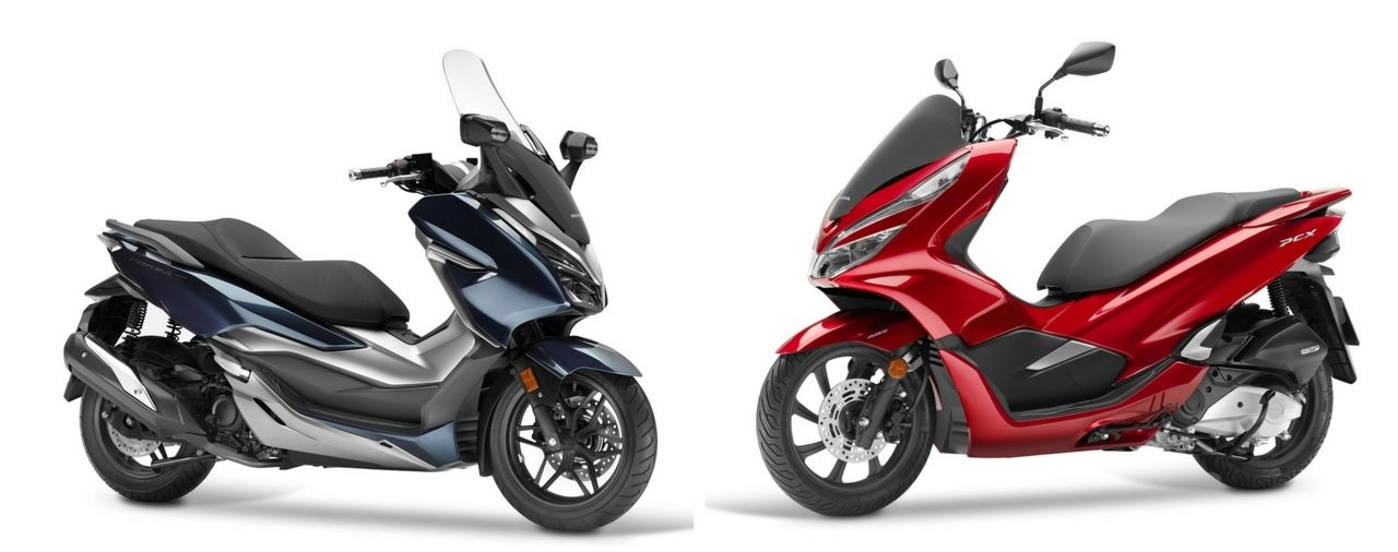 Honda Forza 300 und PCX Preise