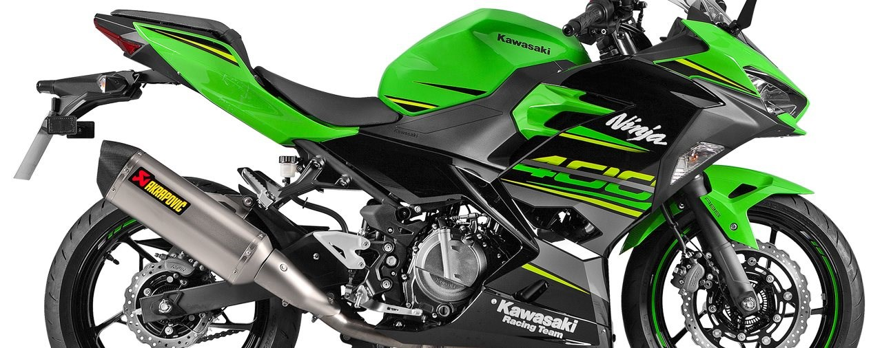 Akrapovič Auspuffanlage für die Kawasaki Ninja 400