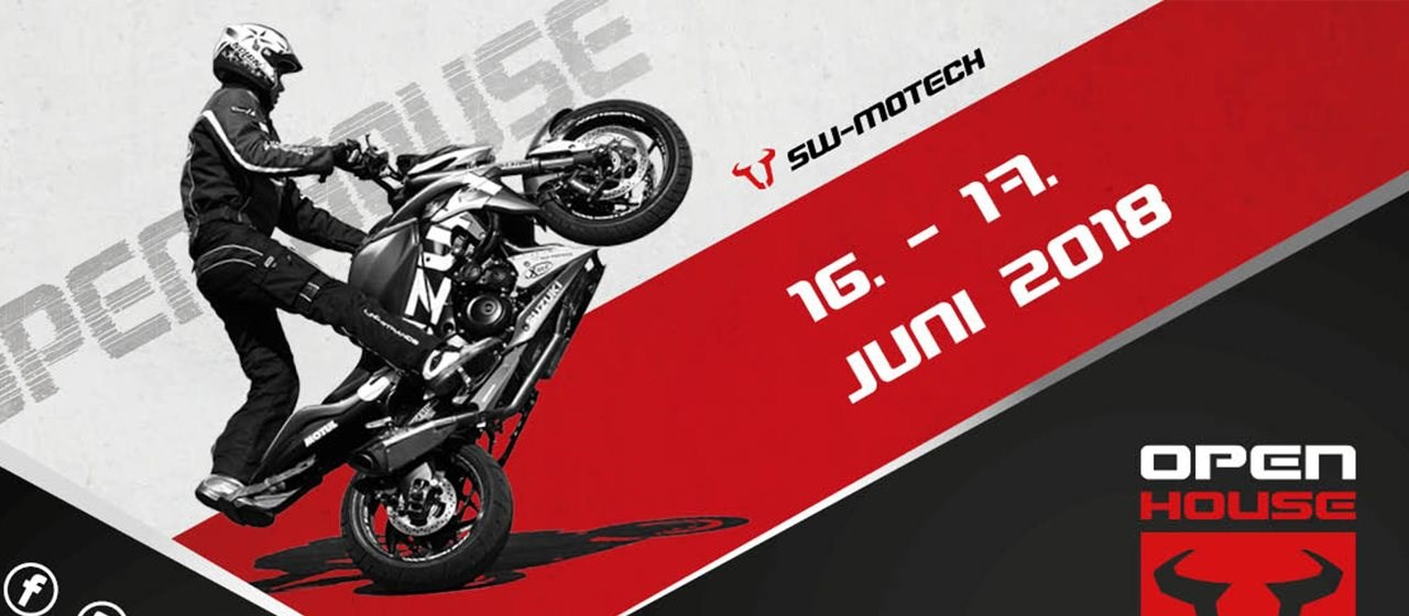 Open House 2018 bei SW-MOTECH
