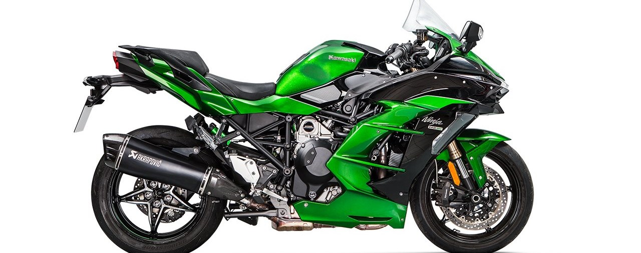 Akrapovič Auspuffanlage für die Kawasaki Ninja H2 SX