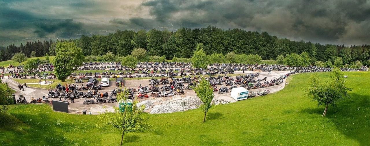 Größte Biker-Sternfahrt ging in die zweite Runde