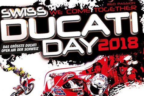 SWISS DUCATI DAY 2018 IN HINWIL