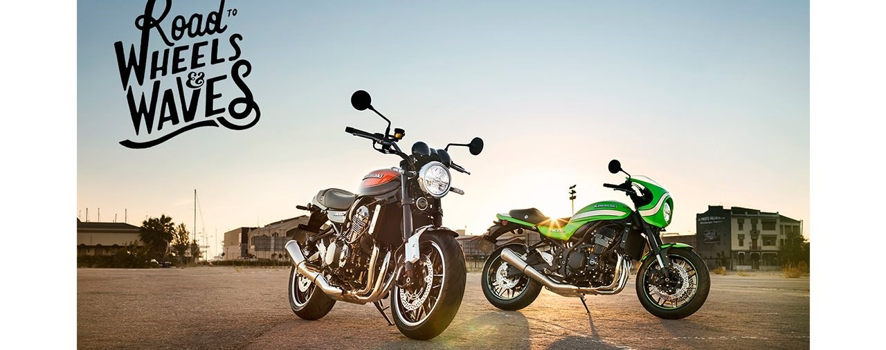 "Kawasaki unterstützt ""Road to Wheels & Waves"" Projekt"