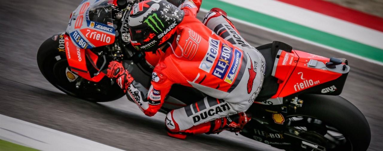 MotoGP 2018 - Lorenzo 2019 auf Honda, Sieg in Mugello auf Ducati!