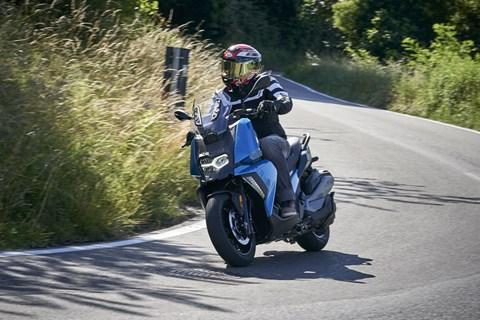 BMW C 400 X 2018 Test