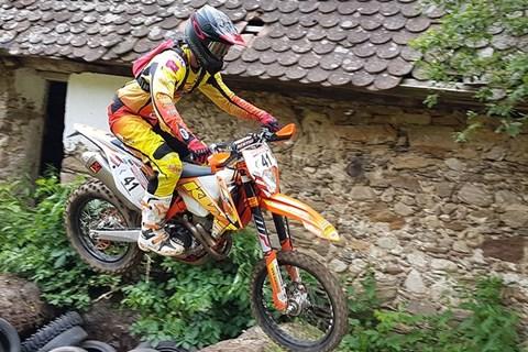 Dritter Sieg im dritten Lauf für Bernhard Schöpf