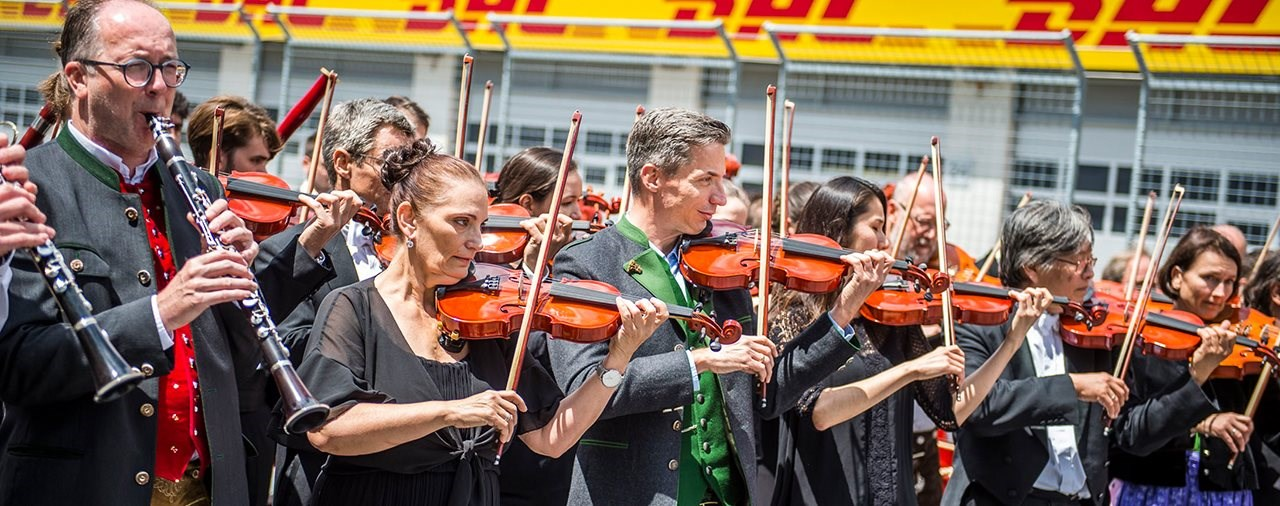 Grazer Philharmoniker als kulturelles Highlight des Österreich-GP