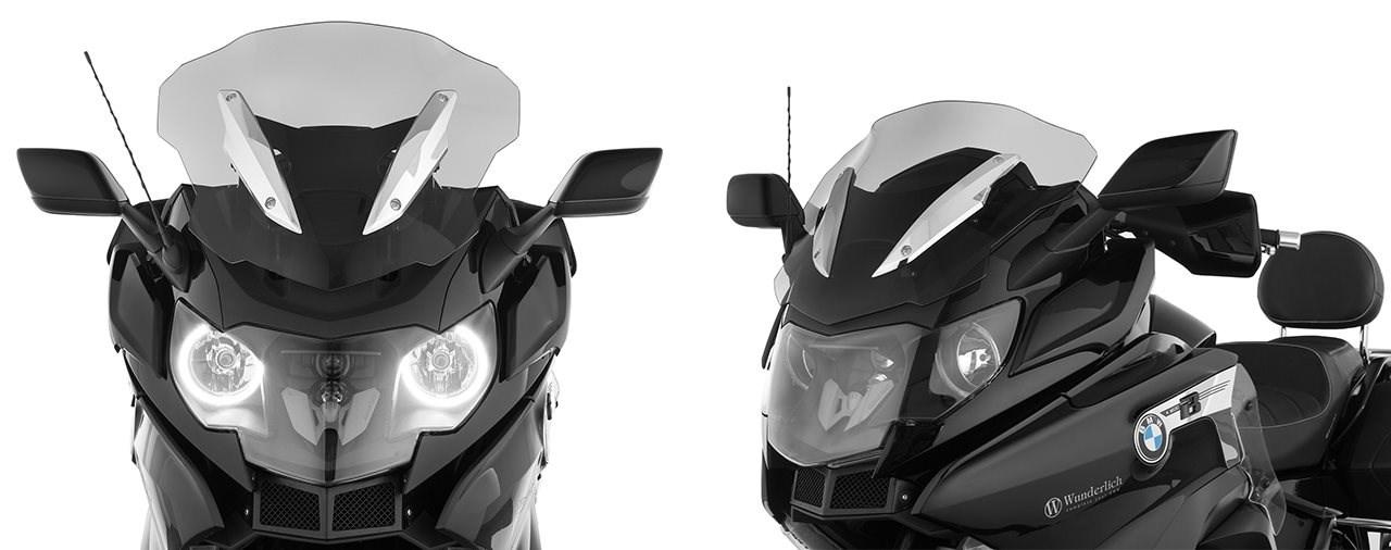 Stilsichere Scheibe für den BMW K 1600 Bagger von Wunderlich