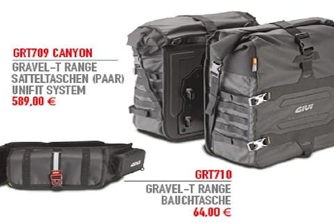 Neue Gravel-T Produkte von GIVI