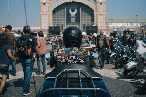 Harley-Davidson feierte 115th Anniversary Party in Prag