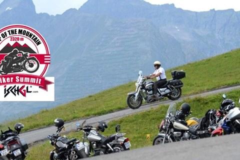 Das Bikertreffen in Ischgl am 22. Juli 2018