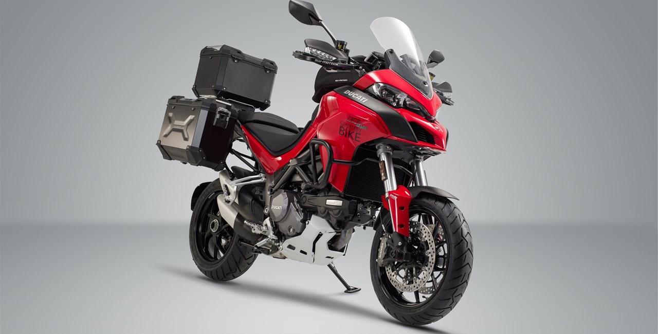 Neues Zubehör für Ducati Multistrada 1260 von SW-Motech