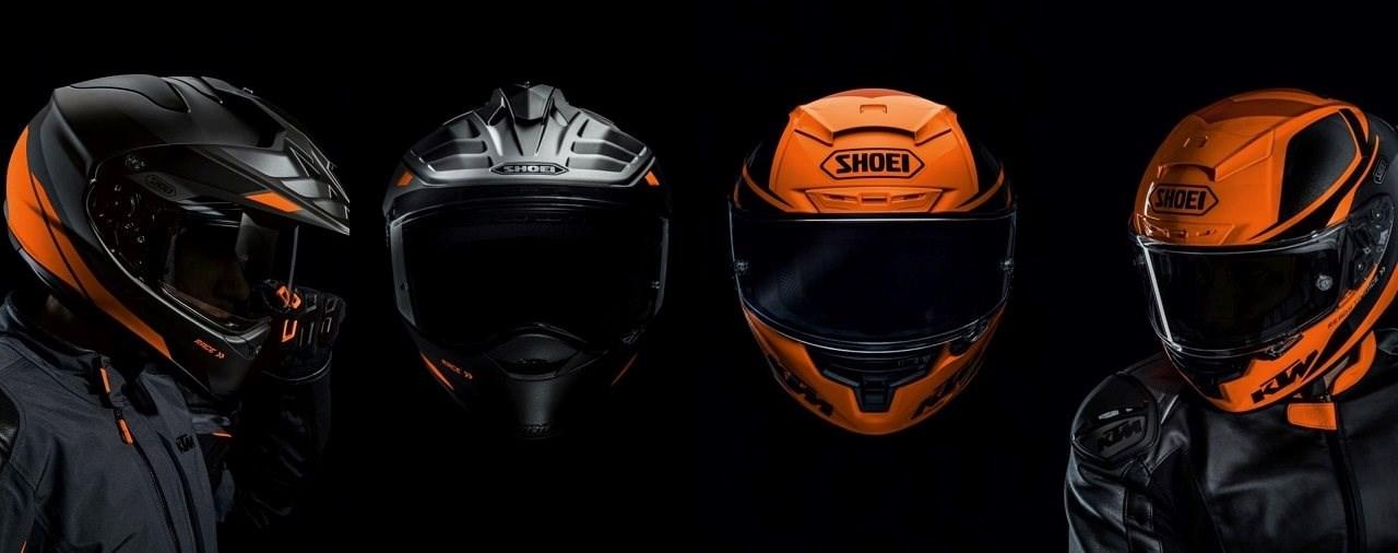 Zwei neue Helme von KTM
