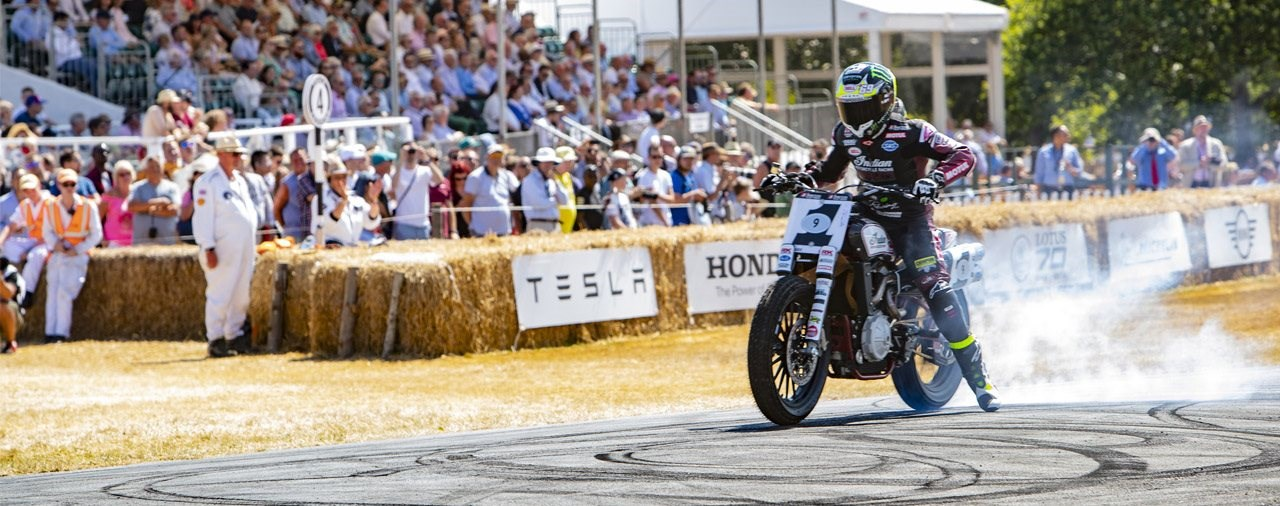 Indian beim Goodwood Festival of Speed