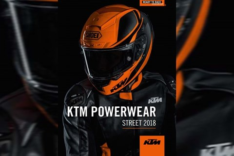 KTM POWERWEAR: DRESSED FOR ADVENTURE