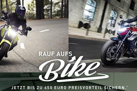 Jetzt bis zu 650 Euro Preisvorteil auf Honda Modelle sichern