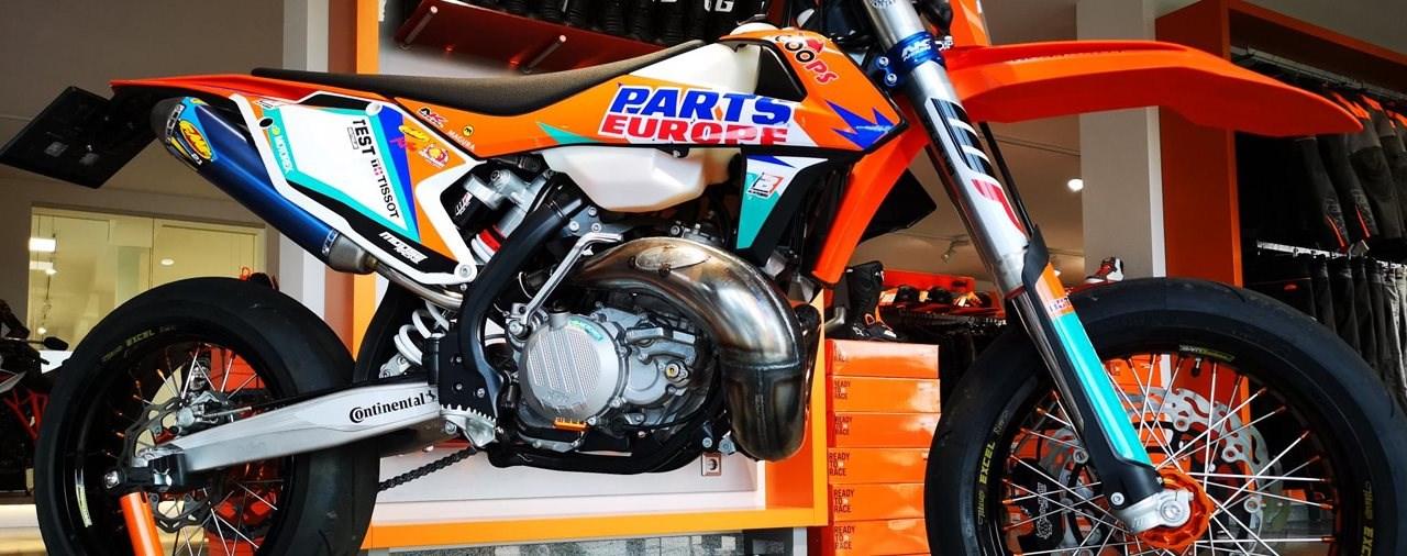 KTM 300 SMC-R Supermoto Umbau