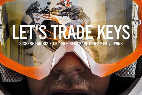 KTM Sonderaktion LET'S TRADE KEYS