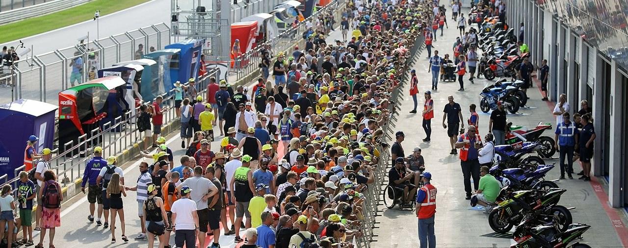 """""""Engines on!"""" für die MotoGP am Spielberg"""
