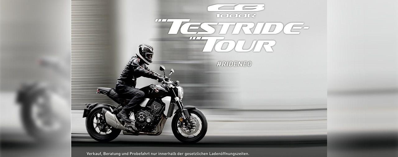 Honda CB1000R Testride-Tour