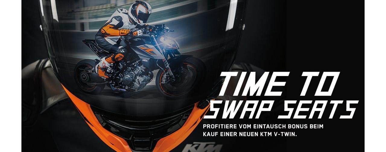 LETS TRADE KEYS-Aktion von KTM Schweiz ab 16. August