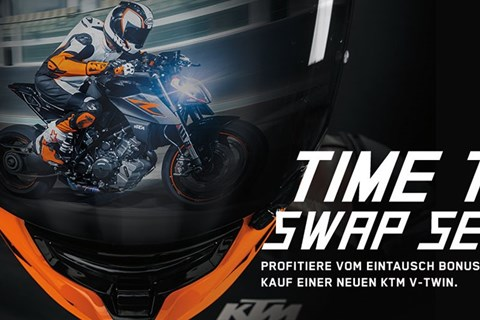 LETS TRADE KEYS-Aktion von KTM Schweiz ab 16. August
