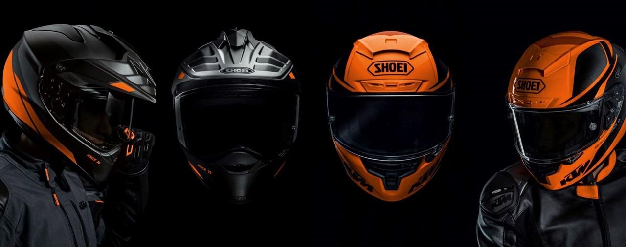 Streets ahead mit den neuen Helmen der KTM Powerwear-Kollektion