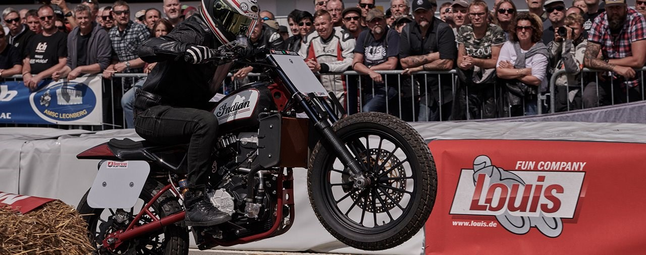 Indian Motorcycle und Star-Designern beim Glemseck 101