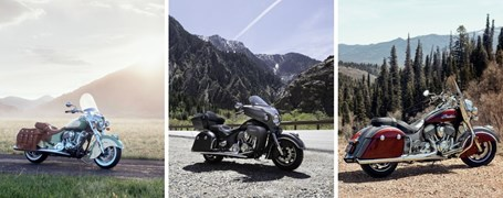 Indian Chief, Springfield und Roadmaster für 2019
