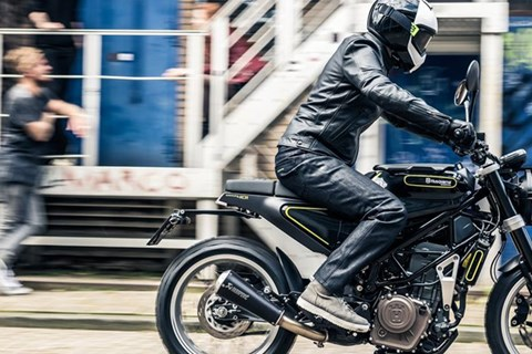 Husqvarna Motorcycles Pioneer Package