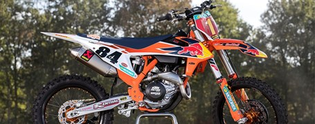 KTM 450 SX-F HERLINGS REPLICA
