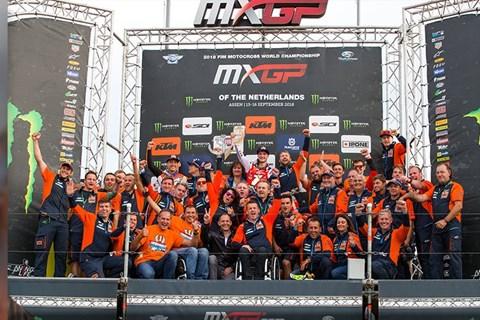 Herlings und KTM holen sich beim vorletzten Lauf die MXGP-Krone