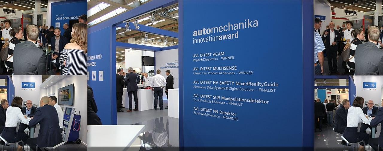 Innovations-Rekord auf der Automechanika 2018