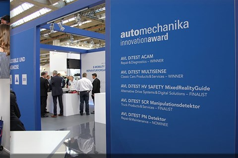 Innovations-Rekord auf der Automechanika 2018